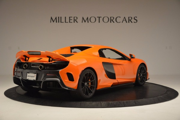 Used 2016 McLaren 675LT Spider Convertible for sale Sold at Maserati of Westport in Westport CT 06880 18