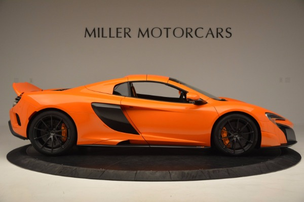 Used 2016 McLaren 675LT Spider Convertible for sale Sold at Maserati of Westport in Westport CT 06880 19