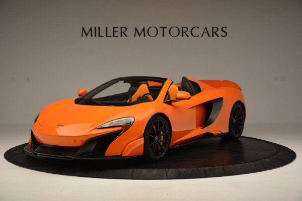 Used 2016 McLaren 675LT Spider Convertible for sale Sold at Maserati of Westport in Westport CT 06880 2