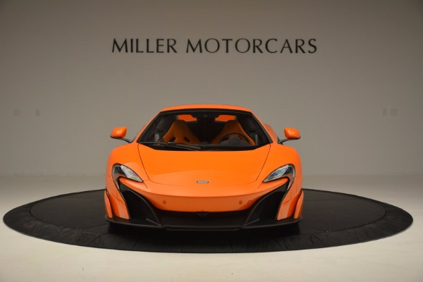 Used 2016 McLaren 675LT Spider Convertible for sale Sold at Maserati of Westport in Westport CT 06880 21