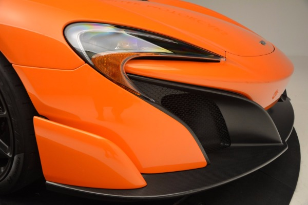 Used 2016 McLaren 675LT Spider Convertible for sale Sold at Maserati of Westport in Westport CT 06880 28
