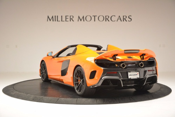 Used 2016 McLaren 675LT Spider Convertible for sale Sold at Maserati of Westport in Westport CT 06880 5