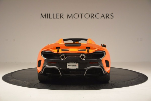 Used 2016 McLaren 675LT Spider Convertible for sale Sold at Maserati of Westport in Westport CT 06880 6