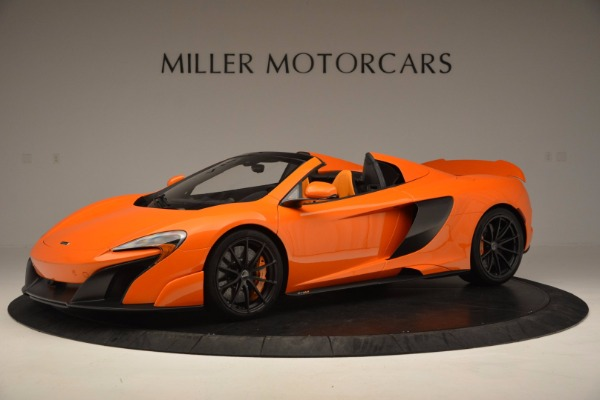 Used 2016 McLaren 675LT Spider Convertible for sale Sold at Maserati of Westport in Westport CT 06880 1
