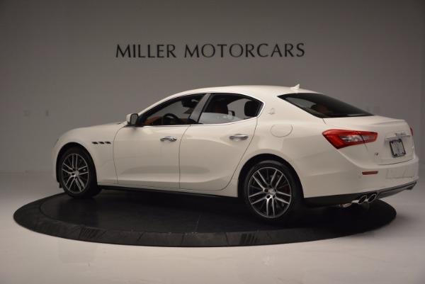 Used 2017 Maserati Ghibli S Q4 Ex-Loaner for sale Sold at Maserati of Westport in Westport CT 06880 4