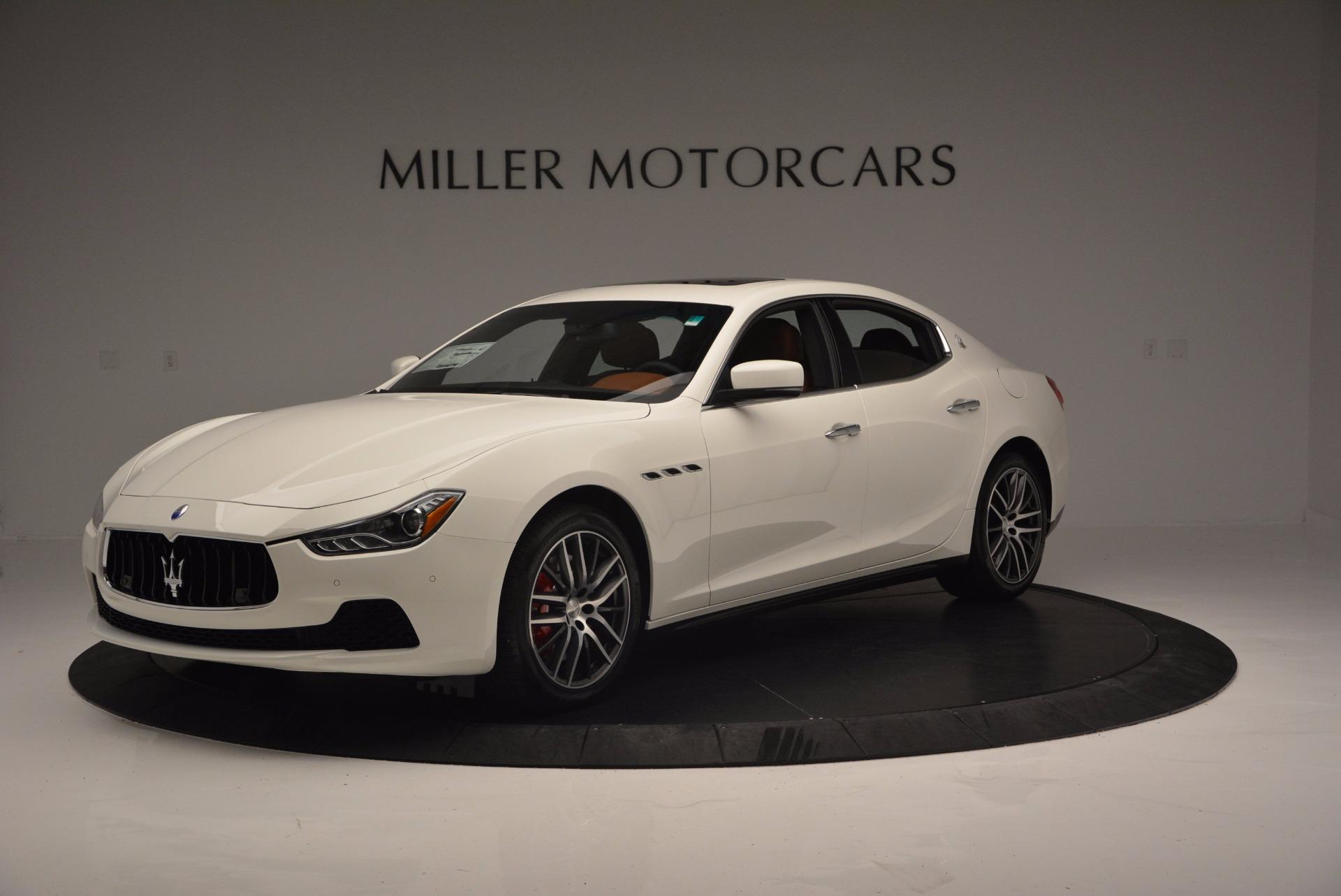 Used 2017 Maserati Ghibli S Q4 Ex-Loaner for sale Sold at Maserati of Westport in Westport CT 06880 1
