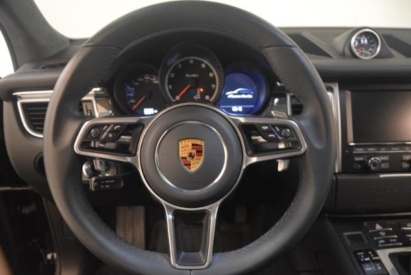 Used 2016 Porsche Macan Turbo for sale Sold at Maserati of Westport in Westport CT 06880 18