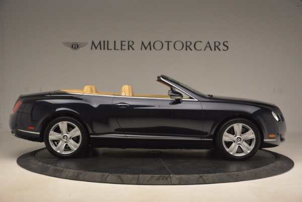Used 2007 Bentley Continental GTC for sale Sold at Maserati of Westport in Westport CT 06880 9