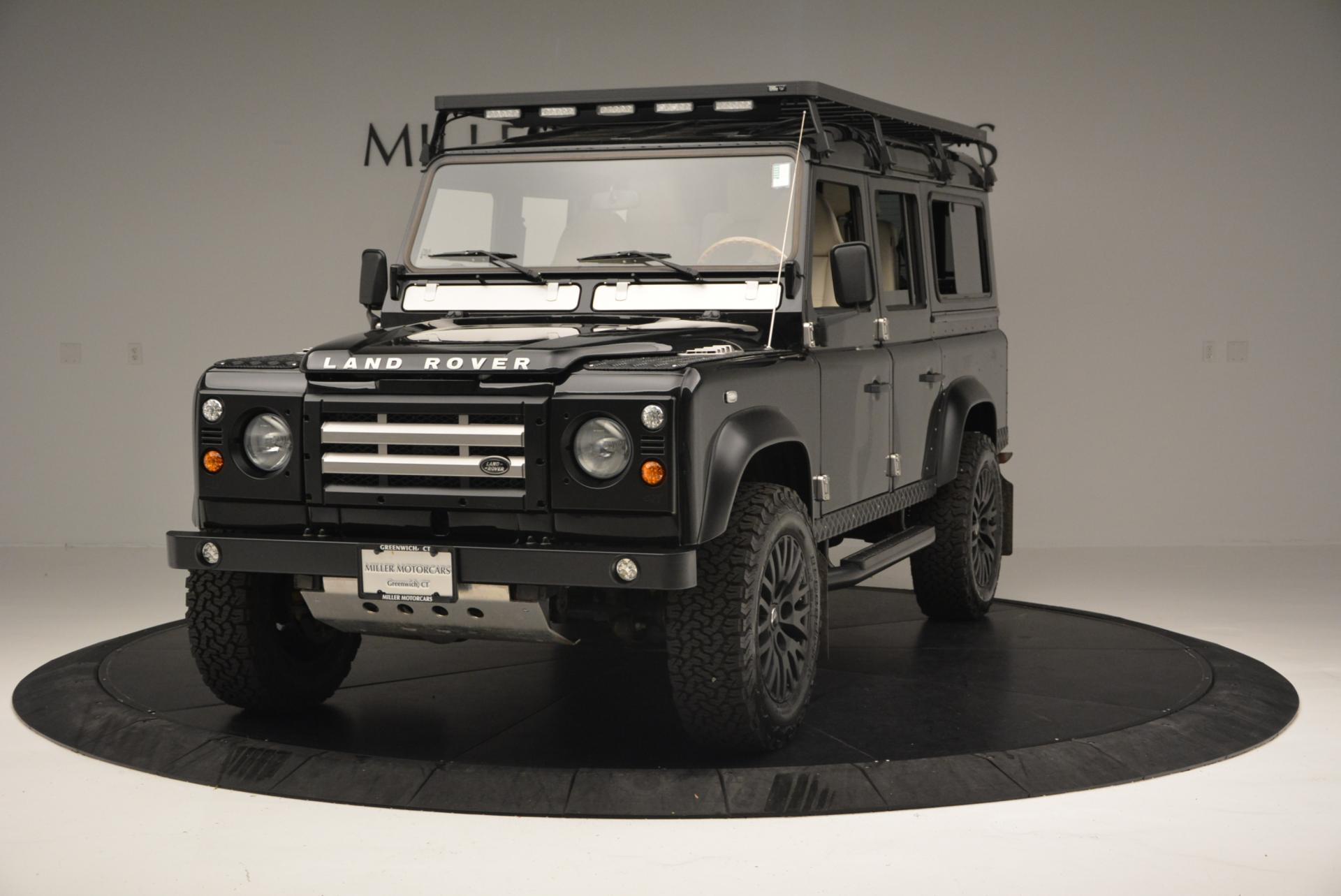 Used 1985 LAND ROVER Defender 110 for sale Sold at Maserati of Westport in Westport CT 06880 1
