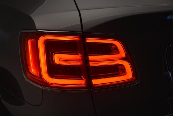 New 2018 Bentley Bentayga Onyx for sale Sold at Maserati of Westport in Westport CT 06880 20