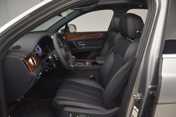 New 2018 Bentley Bentayga Onyx for sale Sold at Maserati of Westport in Westport CT 06880 24