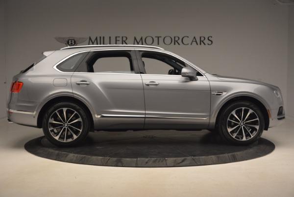 New 2018 Bentley Bentayga Onyx for sale Sold at Maserati of Westport in Westport CT 06880 9