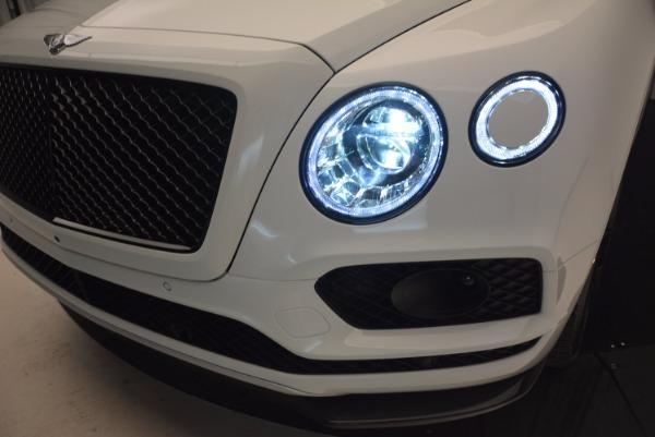 New 2018 Bentley Bentayga Black Edition for sale Sold at Maserati of Westport in Westport CT 06880 16