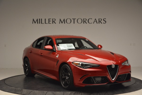 New 2017 Alfa Romeo Giulia Quadrifoglio Quadrifoglio for sale Sold at Maserati of Westport in Westport CT 06880 11