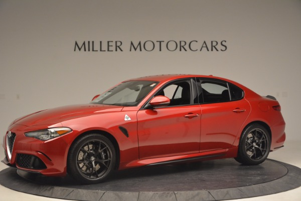 New 2017 Alfa Romeo Giulia Quadrifoglio Quadrifoglio for sale Sold at Maserati of Westport in Westport CT 06880 2
