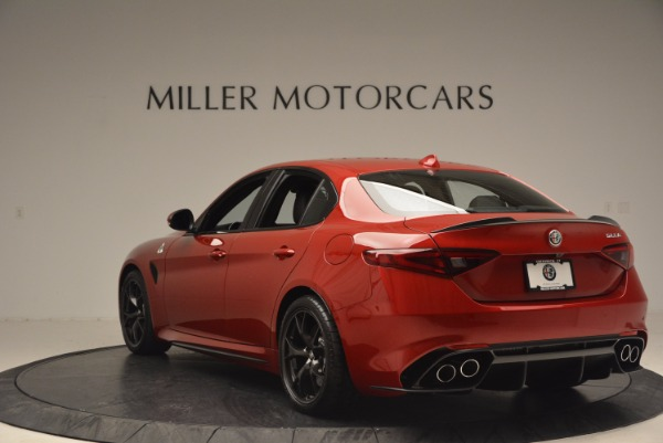 New 2017 Alfa Romeo Giulia Quadrifoglio Quadrifoglio for sale Sold at Maserati of Westport in Westport CT 06880 5