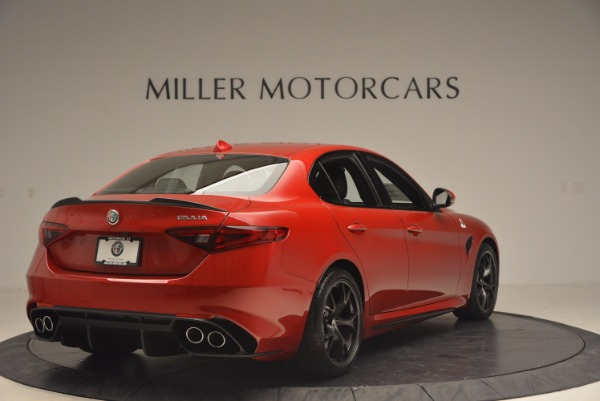 New 2017 Alfa Romeo Giulia Quadrifoglio Quadrifoglio for sale Sold at Maserati of Westport in Westport CT 06880 7