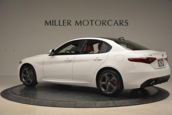 New 2017 Alfa Romeo Giulia Ti Q4 for sale Sold at Maserati of Westport in Westport CT 06880 6