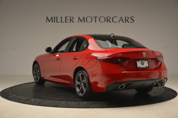 New 2017 Alfa Romeo Giulia Q4 for sale Sold at Maserati of Westport in Westport CT 06880 6