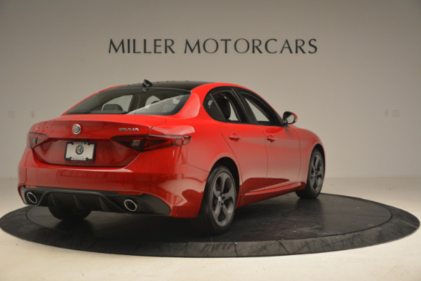 New 2017 Alfa Romeo Giulia Q4 for sale Sold at Maserati of Westport in Westport CT 06880 8