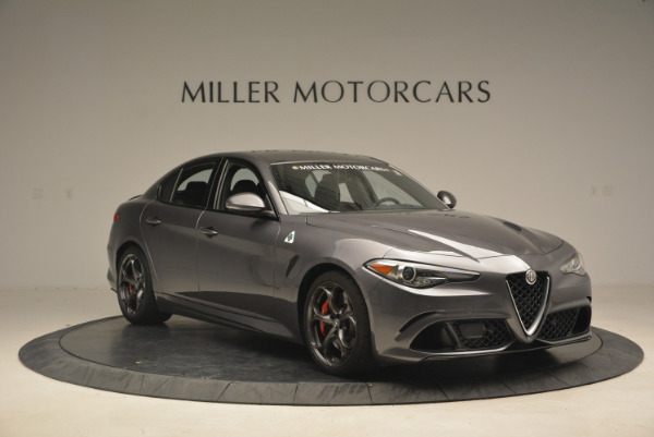 New 2017 Alfa Romeo Giulia Quadrifoglio for sale Sold at Maserati of Westport in Westport CT 06880 12