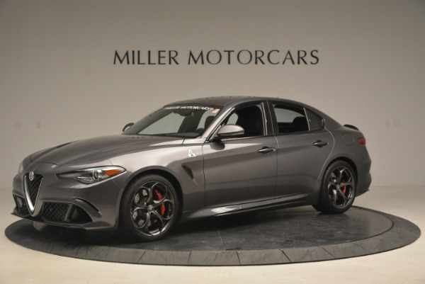 New 2017 Alfa Romeo Giulia Quadrifoglio for sale Sold at Maserati of Westport in Westport CT 06880 3