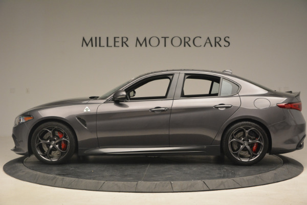 New 2017 Alfa Romeo Giulia Quadrifoglio for sale Sold at Maserati of Westport in Westport CT 06880 4