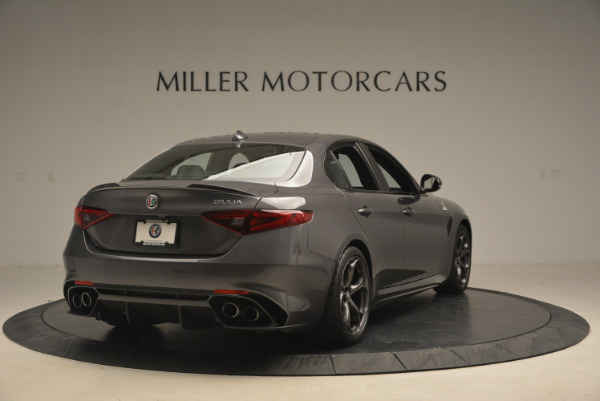 New 2017 Alfa Romeo Giulia Quadrifoglio for sale Sold at Maserati of Westport in Westport CT 06880 8