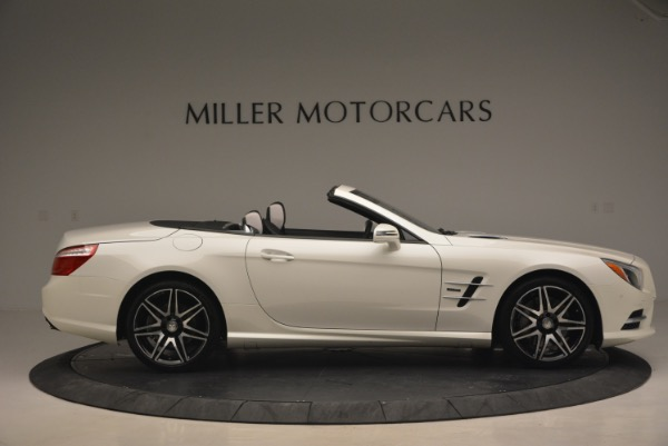 Used 2015 Mercedes Benz SL-Class SL 550 for sale Sold at Maserati of Westport in Westport CT 06880 10