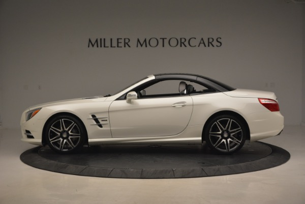 Used 2015 Mercedes Benz SL-Class SL 550 for sale Sold at Maserati of Westport in Westport CT 06880 17