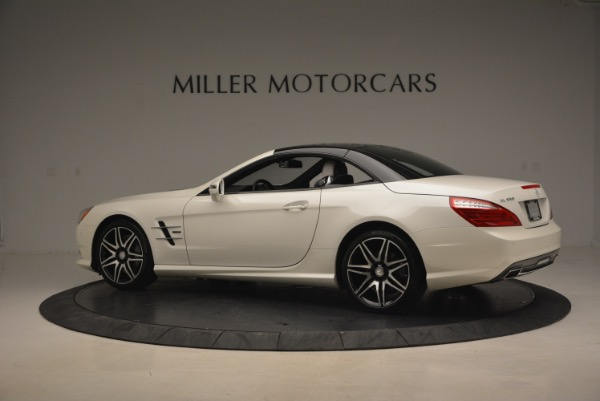 Used 2015 Mercedes Benz SL-Class SL 550 for sale Sold at Maserati of Westport in Westport CT 06880 18