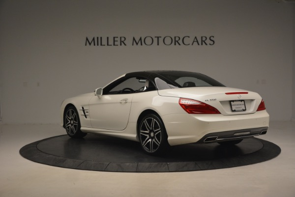 Used 2015 Mercedes Benz SL-Class SL 550 for sale Sold at Maserati of Westport in Westport CT 06880 19