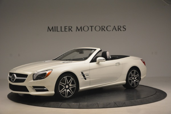 Used 2015 Mercedes Benz SL-Class SL 550 for sale Sold at Maserati of Westport in Westport CT 06880 2