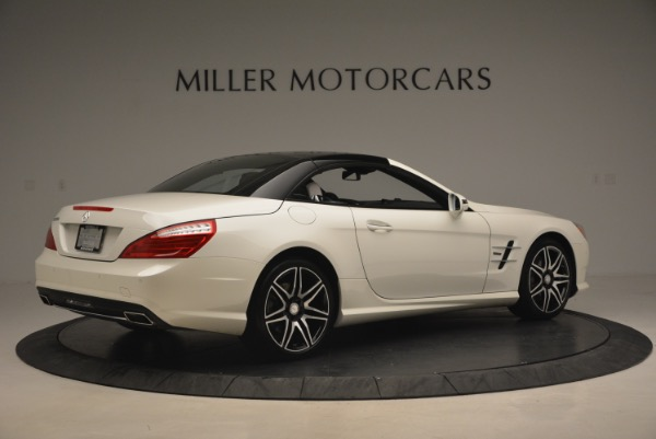 Used 2015 Mercedes Benz SL-Class SL 550 for sale Sold at Maserati of Westport in Westport CT 06880 22