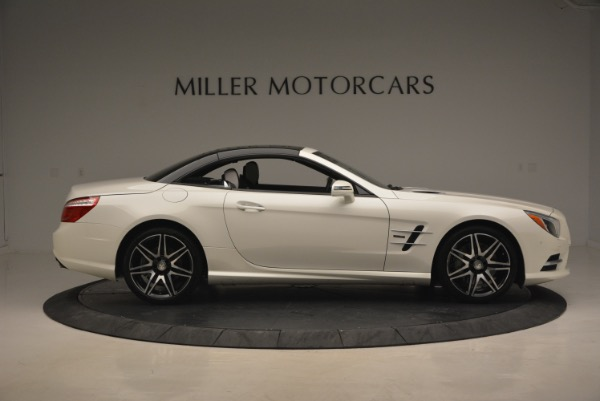 Used 2015 Mercedes Benz SL-Class SL 550 for sale Sold at Maserati of Westport in Westport CT 06880 23