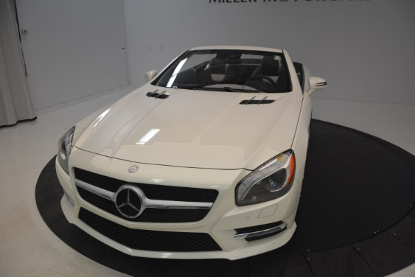 Used 2015 Mercedes Benz SL-Class SL 550 for sale Sold at Maserati of Westport in Westport CT 06880 26