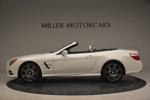 Used 2015 Mercedes Benz SL-Class SL 550 for sale Sold at Maserati of Westport in Westport CT 06880 3