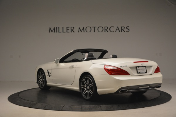 Used 2015 Mercedes Benz SL-Class SL 550 for sale Sold at Maserati of Westport in Westport CT 06880 5