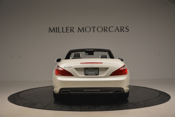 Used 2015 Mercedes Benz SL-Class SL 550 for sale Sold at Maserati of Westport in Westport CT 06880 6