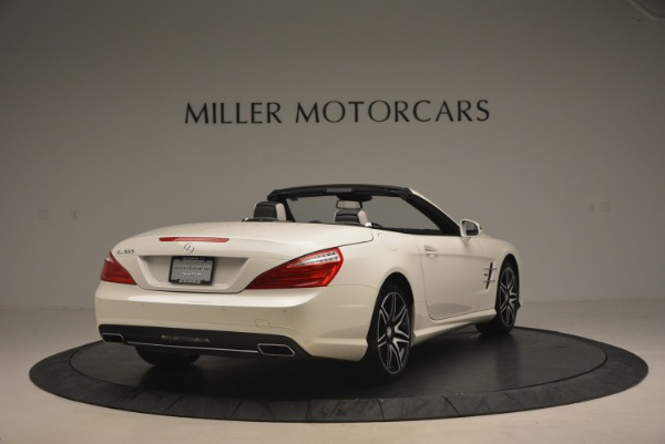 Used 2015 Mercedes Benz SL-Class SL 550 for sale Sold at Maserati of Westport in Westport CT 06880 7