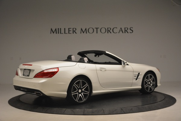 Used 2015 Mercedes Benz SL-Class SL 550 for sale Sold at Maserati of Westport in Westport CT 06880 8