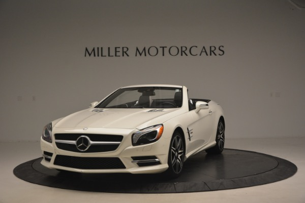 Used 2015 Mercedes Benz SL-Class SL 550 for sale Sold at Maserati of Westport in Westport CT 06880 1