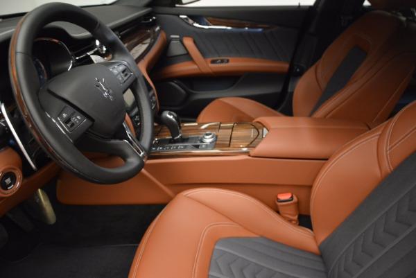 New 2017 Maserati Quattroporte S Q4 GranLusso for sale Sold at Maserati of Westport in Westport CT 06880 14