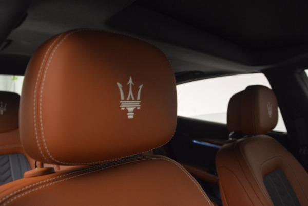 New 2017 Maserati Quattroporte S Q4 GranLusso for sale Sold at Maserati of Westport in Westport CT 06880 21
