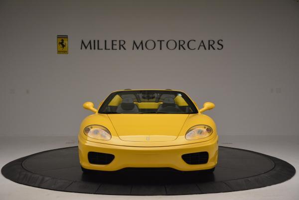 Used 2003 Ferrari 360 Spider 6-Speed Manual for sale Sold at Maserati of Westport in Westport CT 06880 12