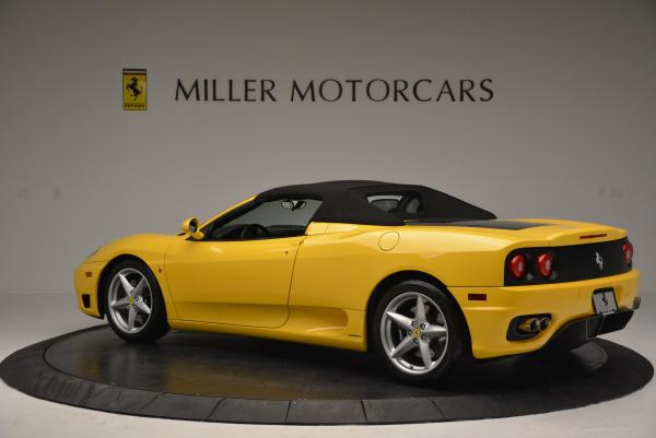 Used 2003 Ferrari 360 Spider 6-Speed Manual for sale Sold at Maserati of Westport in Westport CT 06880 16