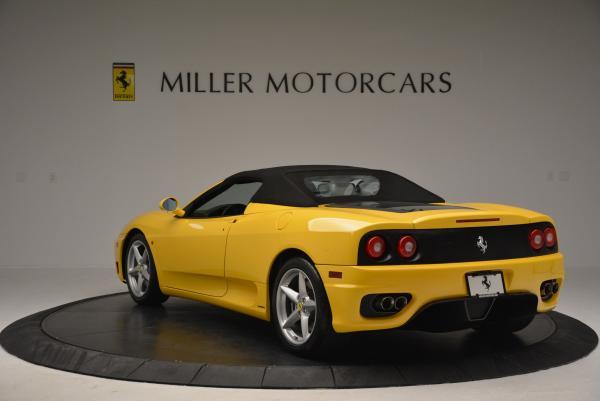 Used 2003 Ferrari 360 Spider 6-Speed Manual for sale Sold at Maserati of Westport in Westport CT 06880 17
