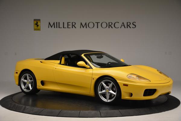 Used 2003 Ferrari 360 Spider 6-Speed Manual for sale Sold at Maserati of Westport in Westport CT 06880 22