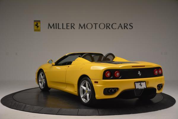 Used 2003 Ferrari 360 Spider 6-Speed Manual for sale Sold at Maserati of Westport in Westport CT 06880 5