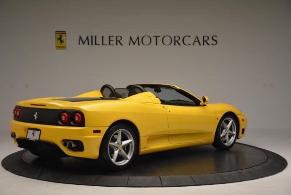 Used 2003 Ferrari 360 Spider 6-Speed Manual for sale Sold at Maserati of Westport in Westport CT 06880 8